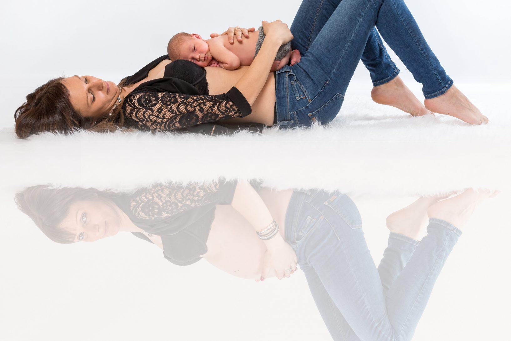 Paket Babybauch Und Neugeborenen Fotoshooting Elke Lessnig